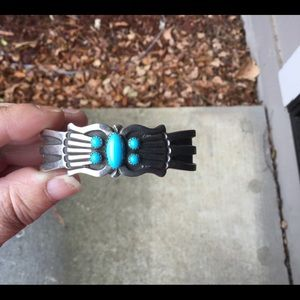 BNWOT NAVAJO Sterling Silver Turquoise Cuff
